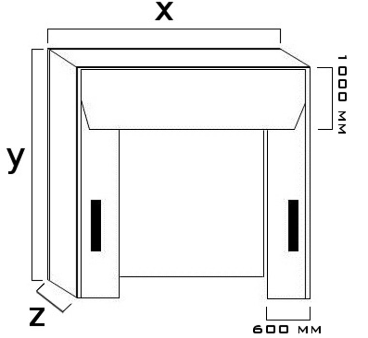 Portale isotermico - mod. SG -2