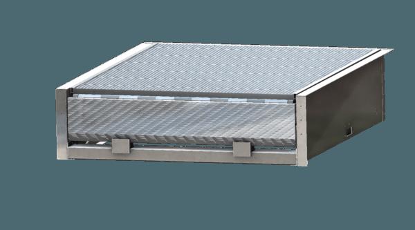 Rampa elettroidraulica con becco a raggio in alluminio - mod. Oil 1