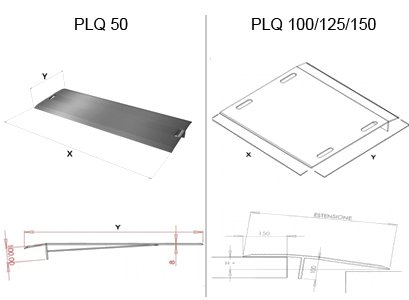 Rampa manuale mobile - mod.PLQ 1